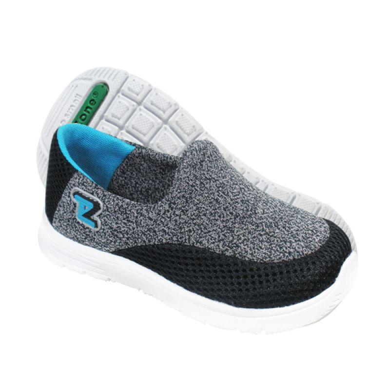 ToeZone Kids Reno Black Teal Sepatu Anak Laki-Laki
