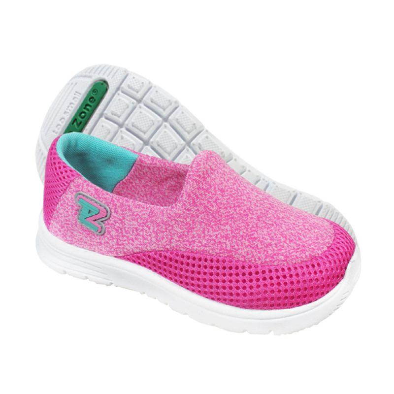 Toezone Kids Reno Flora Aqua Sepatu Anak Perempuan