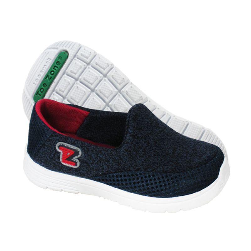 ToeZone Kids Reno Navy Red Sepatu Anak Laki-Laki