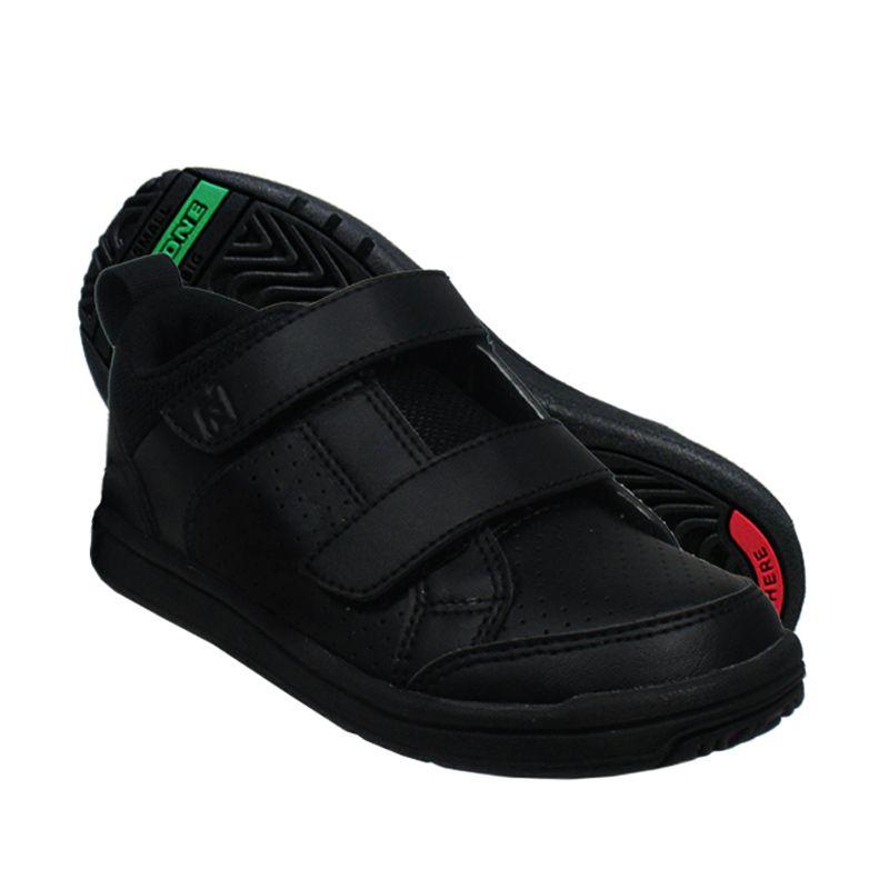 ToeZone Kids Wilbur BTS Black Sepatu Anak