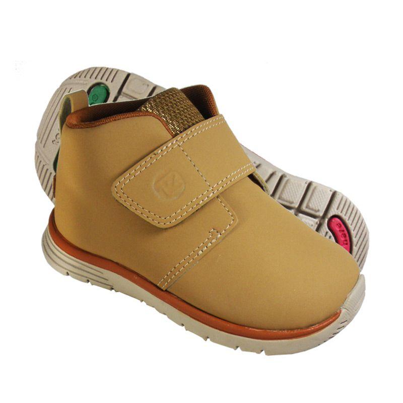 ToeZone Peary 2 Dark Tan Sepatu Anak