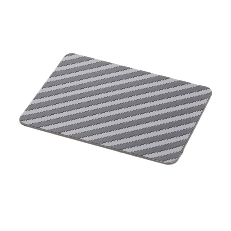 1 Price Garis Diagonal Abu-abu Non Slip Mat Dashboard