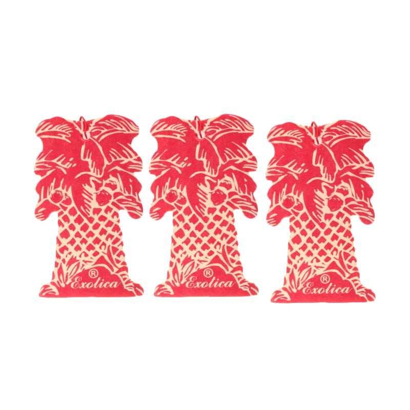 1 Price Parfum Exotica (Hanging Set of 3) Cherry