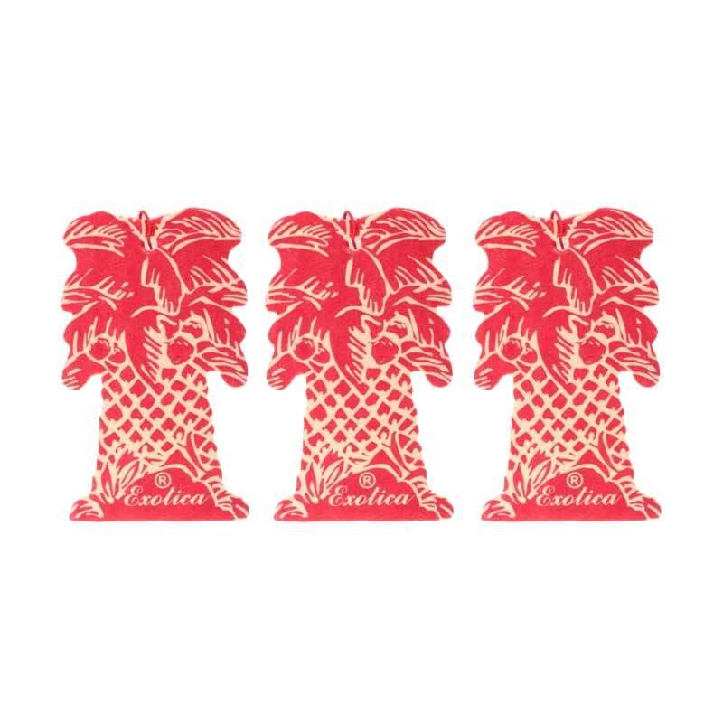 1 Price Parfum Exotica (Hanging Set of 3) Strawberry