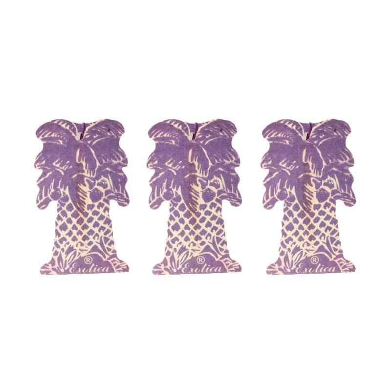 1 Price Parfum Exotica (Hanging Set of 3) Wildberry