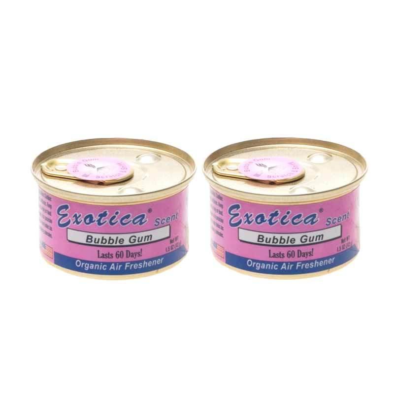 1 Price Parfum Kaleng Exotica (Set of 2) Bubble Gum