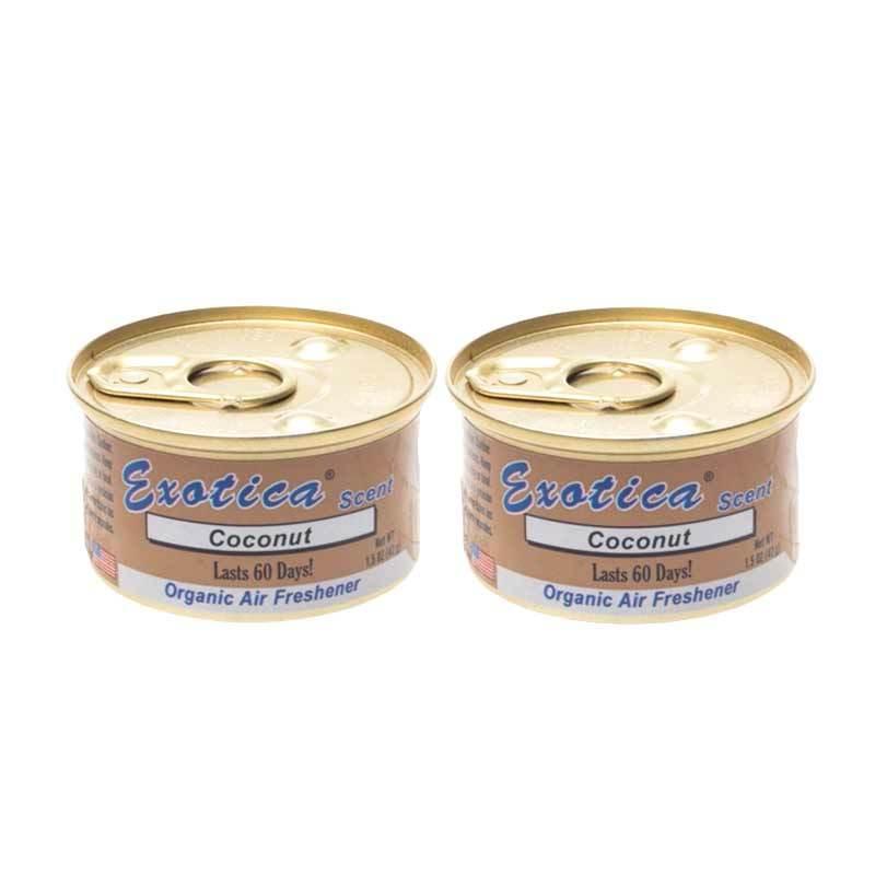 1 Price Parfum Kaleng Exotica (Set of 2) Coconut
