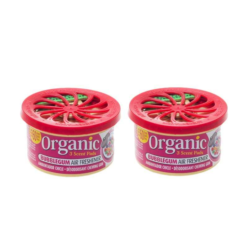 1 Price Parfum Kaleng Organic (Set of 2) Bubble Gum