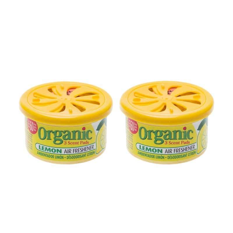 1 Price Parfum Kaleng Organic (Set of 2) Lemon