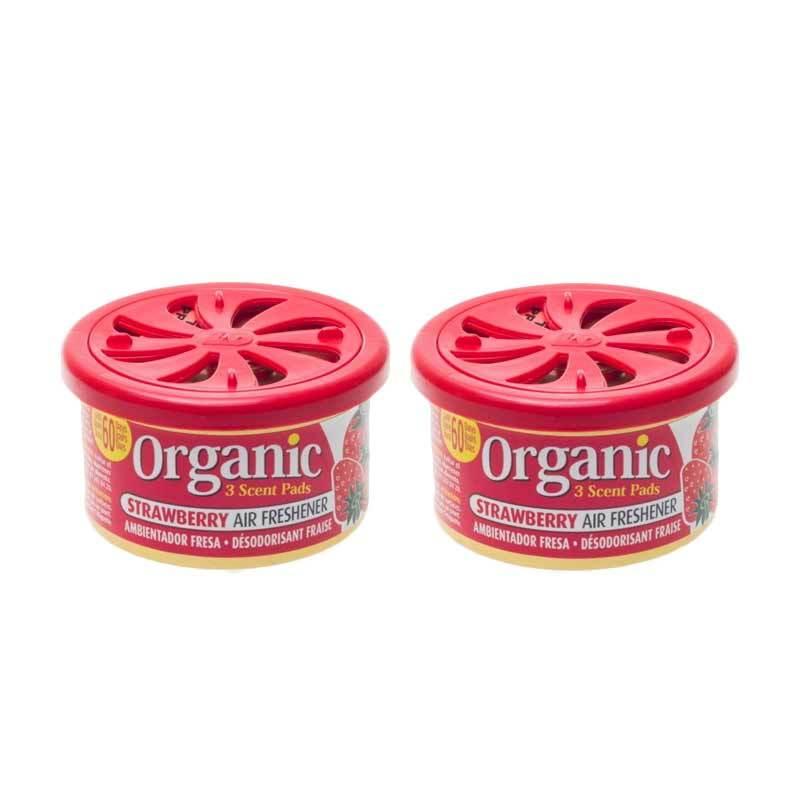 1 Price Parfum Kaleng Organic (Set of 2) Strawberry