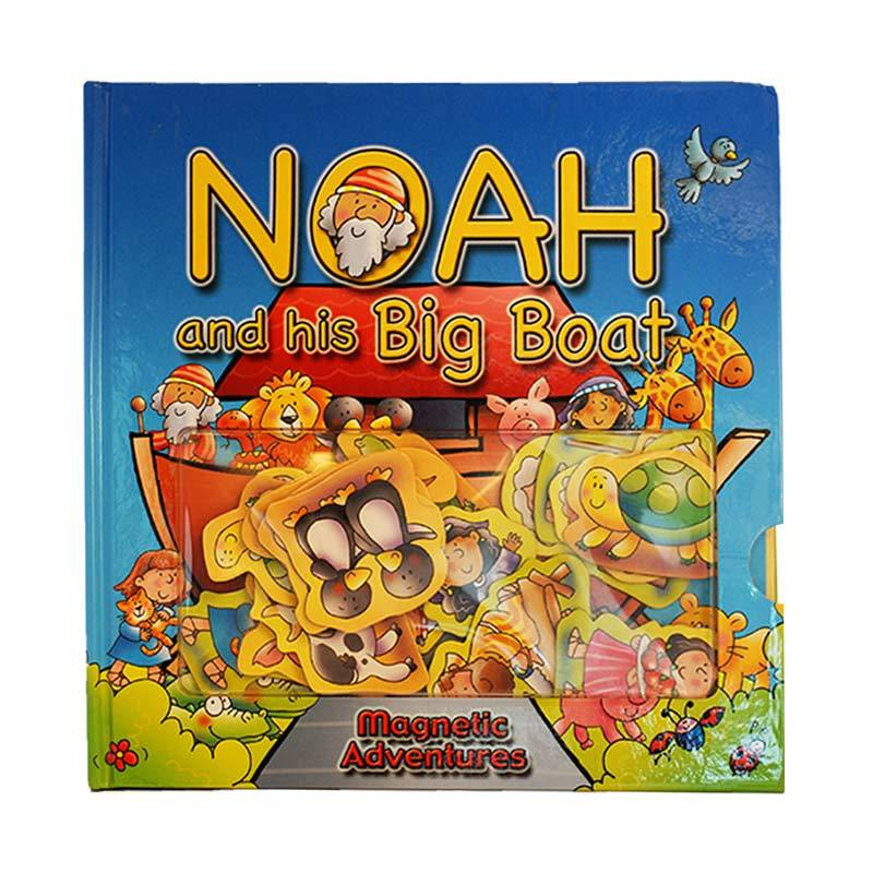 LAI Noah And His Big Boat - Magnetic Adventure Story Book