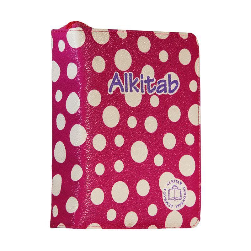 harga Alkitab LAI TB034TI Polkadot Pink [400 g] Blibli.com