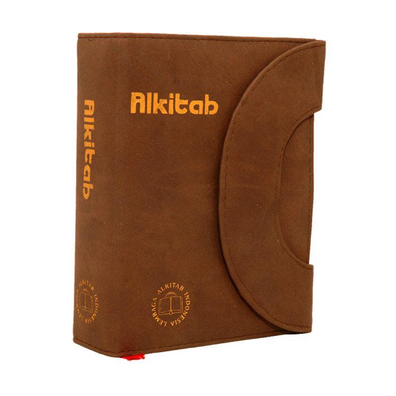 Alkitab LAI TB034TI Tetris Monaco Coklat [400 g]