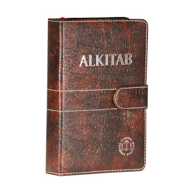 Alkitab LAI TB054TI Agenda Coklat [550 g]