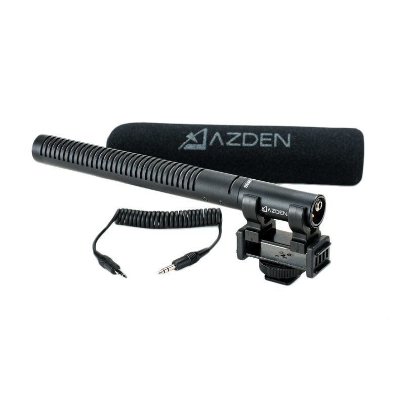 Azden SGM-DSLR Broadcast Quality Shotgun Microphone for DSLR Cameras