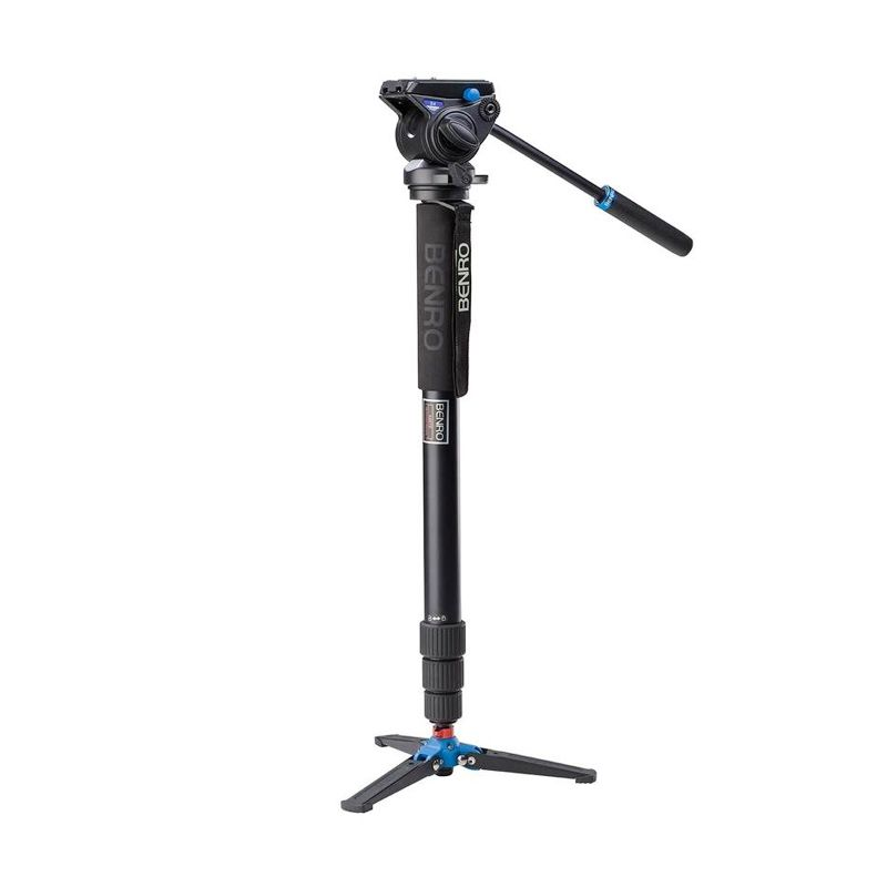 Benro Video A48TDS4 Hitam Monopod