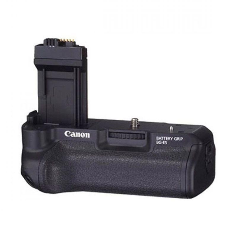 Canon BG-E5 Battery Grip Hitam Baterai Kamera Imitasi