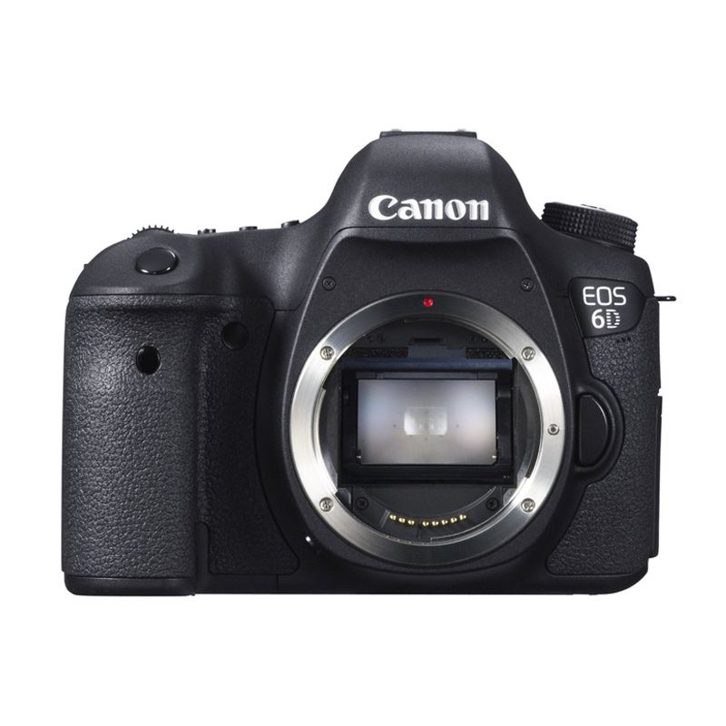 Canon EOS 6D Body Only Hitam Kamera DSLR [Wi-FI & GPS]