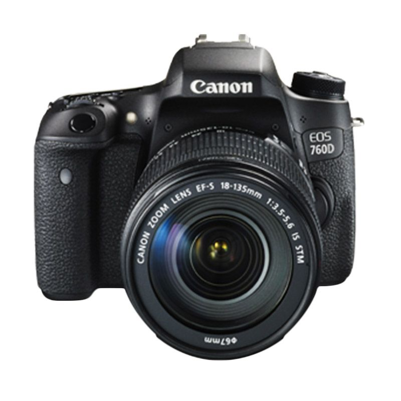 Canon EOS 760D Kit EF-S 18-135mm F/3.5-5.6 IS STM WiFi