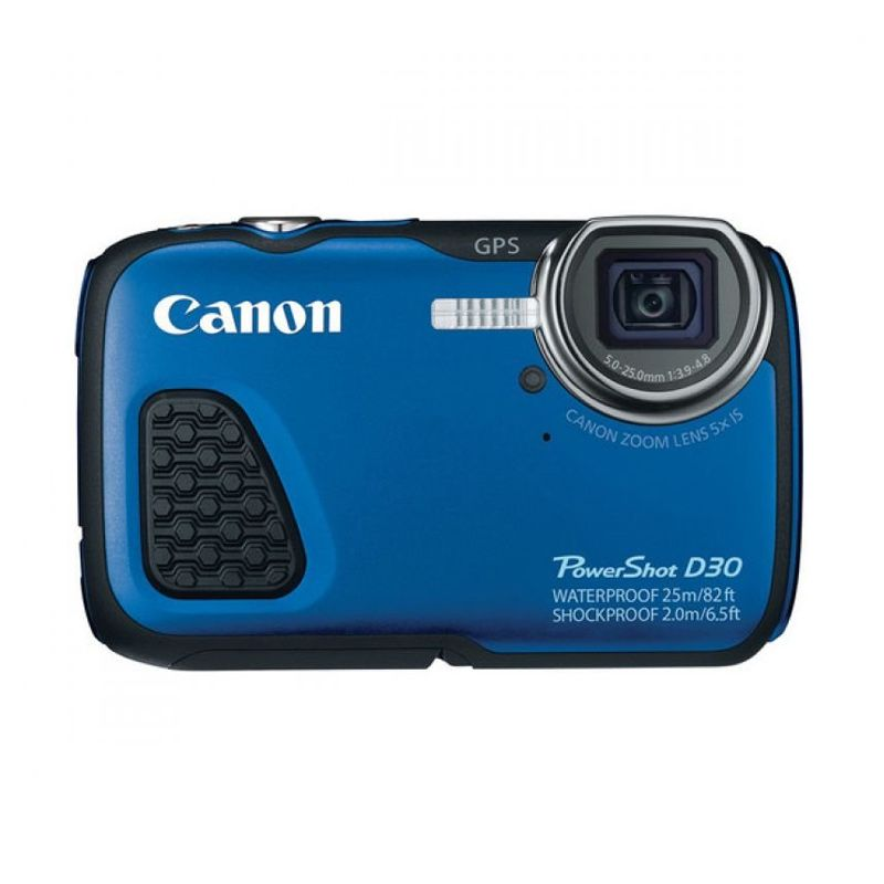 Canon PowerShot D30 Biru Kamera