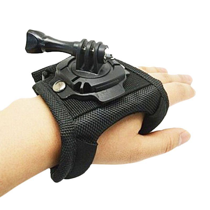 GoPro 360 Glove Hand Strap for GOPRO, BRICA B-PRO & Xiaomi Yi Camera GP127 / Strap Glove