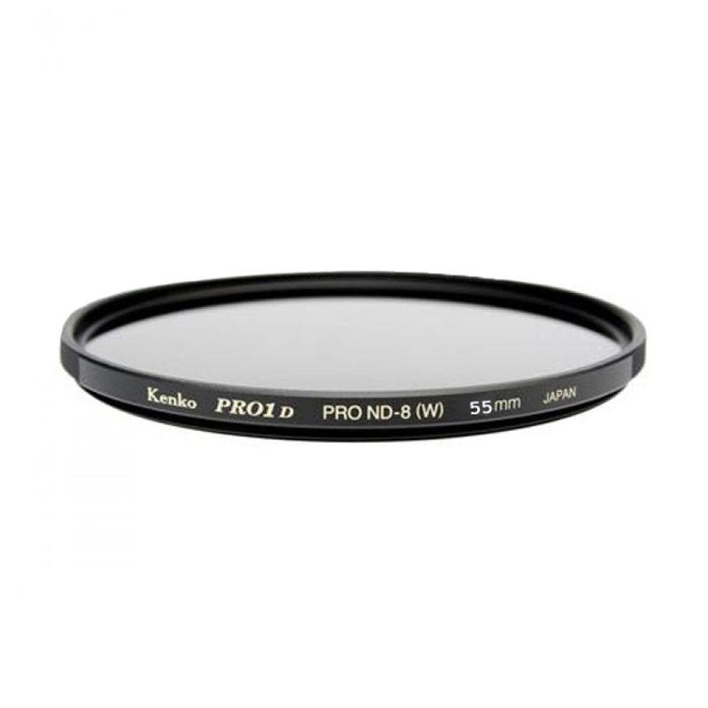 Kenko PRO1 Digital ND8 55mm Hitam Filter Lensa