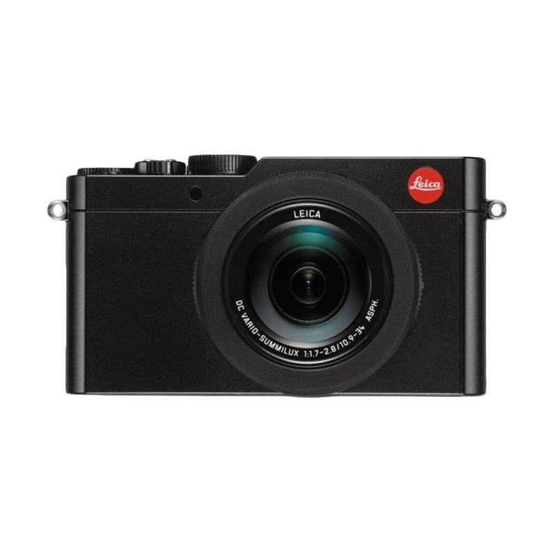 Leica D-LUX 109 Hitam Kamera Pocket + Screenguard Terpasang Tokocamzone