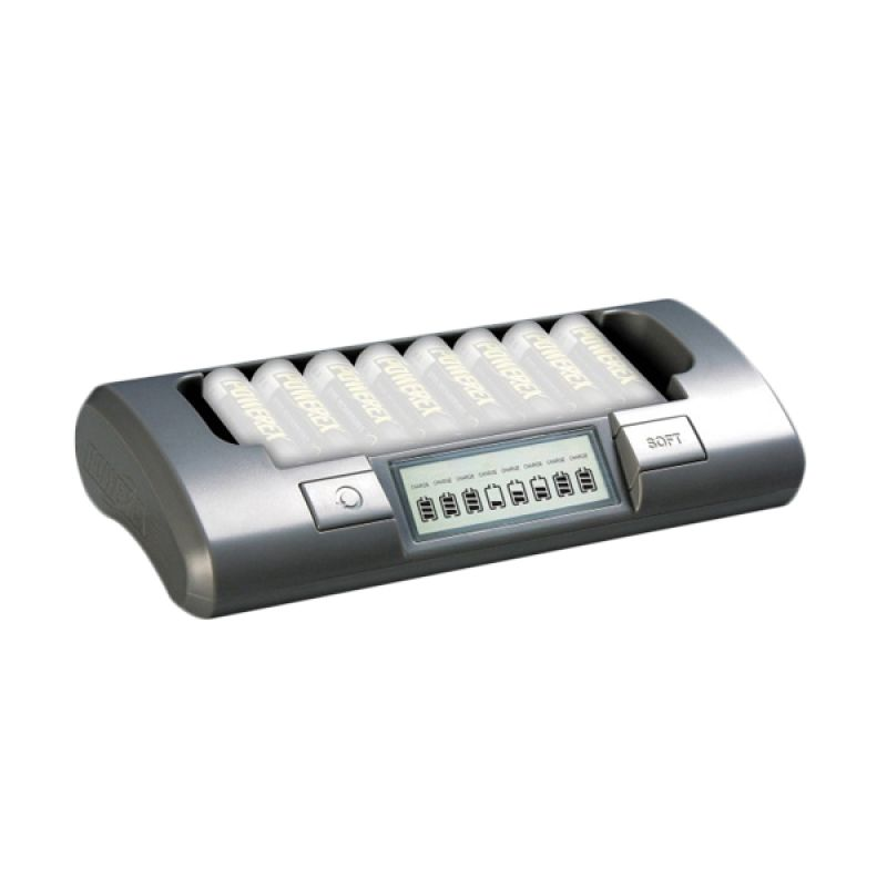 harga MAHA Powerex MH-C800S Smart Charger [8 Cell] Blibli.com