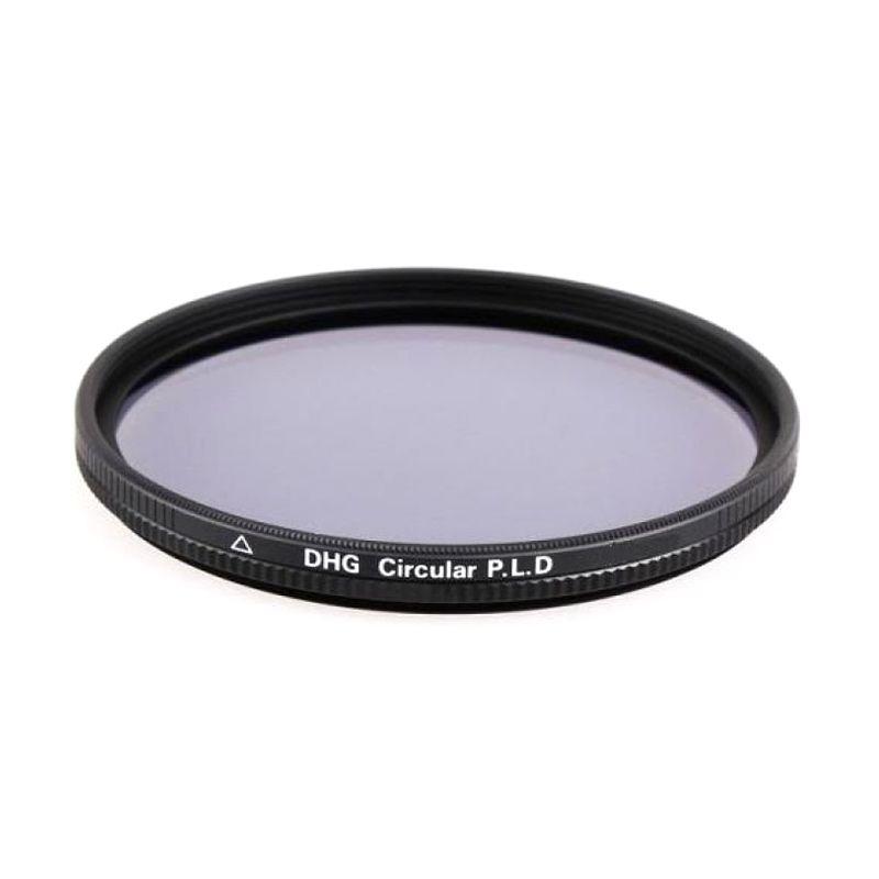 Marumi DHG Circular PL D 72mm Hitam Filter Lensa