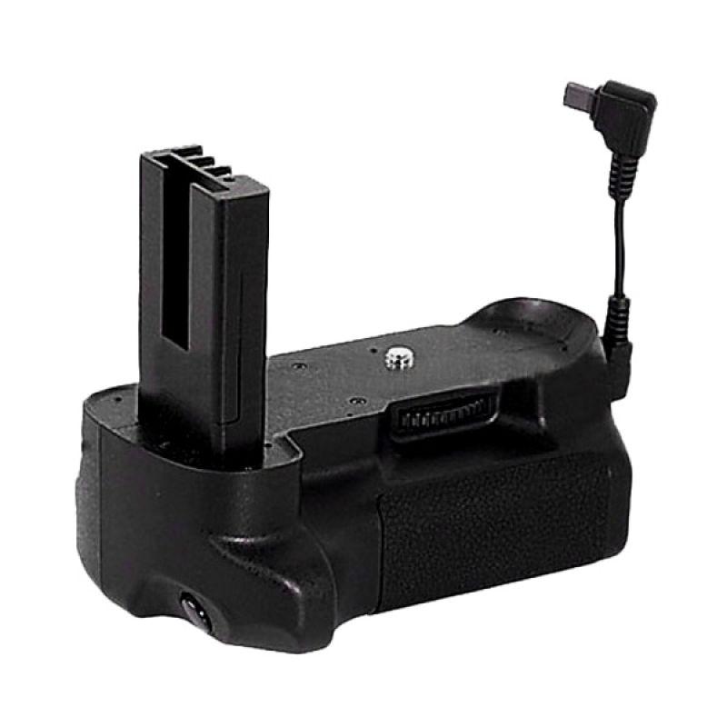 Meike MK-D5000 Hitam Battery Grip [Tanpa Battery]