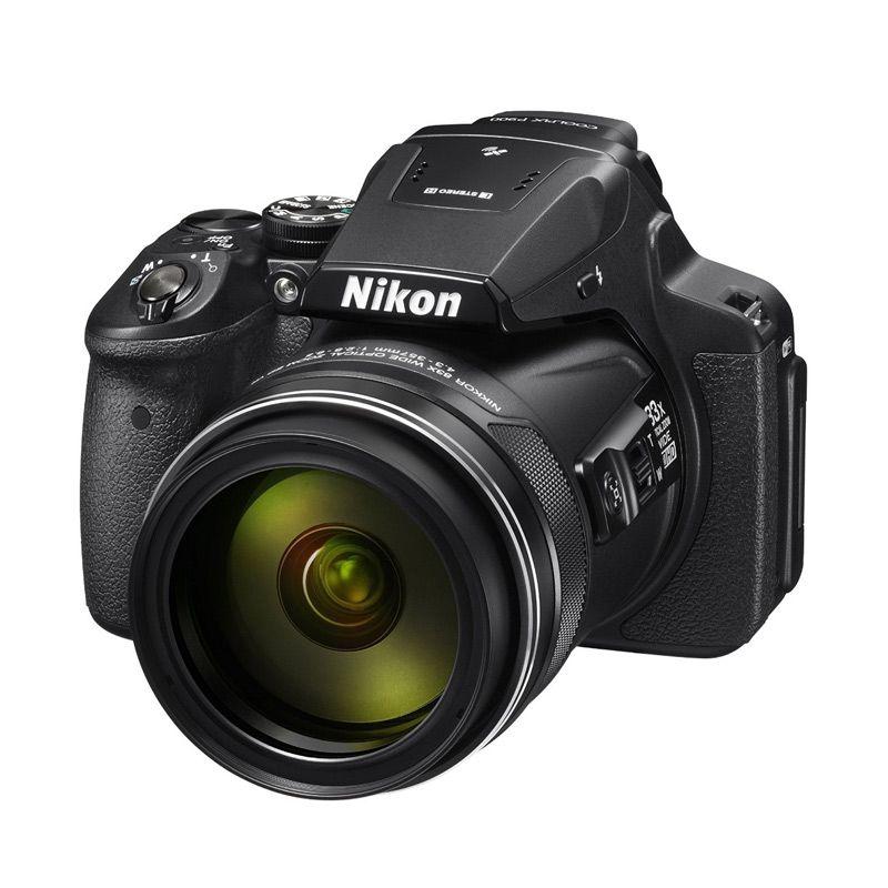 Nikon Coolpix P900 Hitam Kamera Prosummer