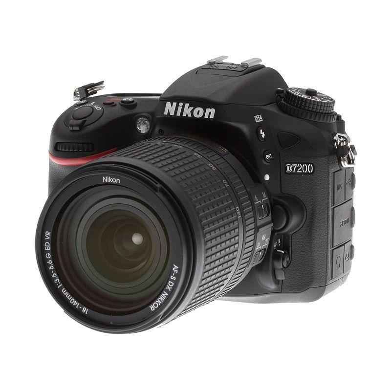 Nikon D7200 Kit 18-140mm f/3.5-5.6G ED VR + Free Tas DSLR