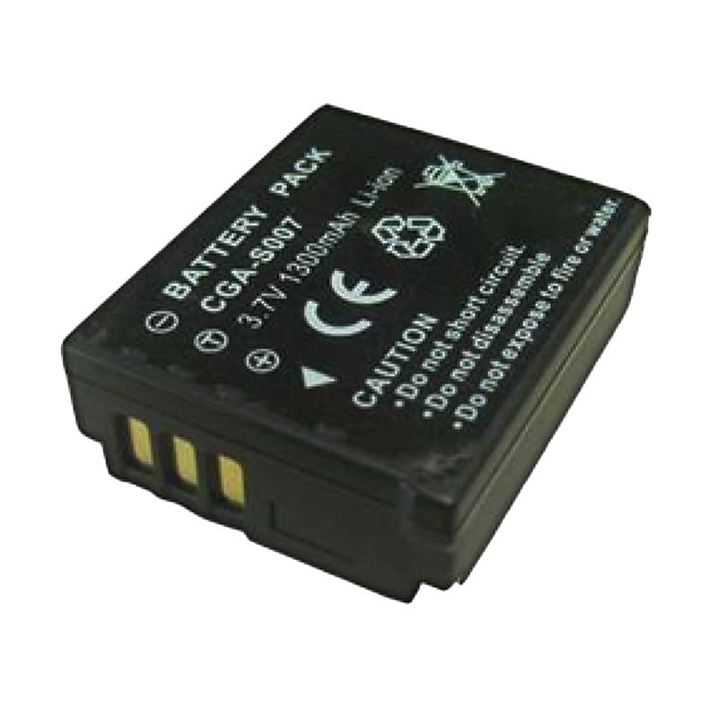 Panasonic CGA-S007 Battery Camera for DMC TZ1/TZ3/TZ11/TZ15