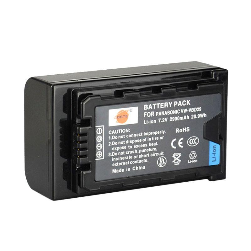 Panasonic VW-VBD29 Black Baterai Kamera