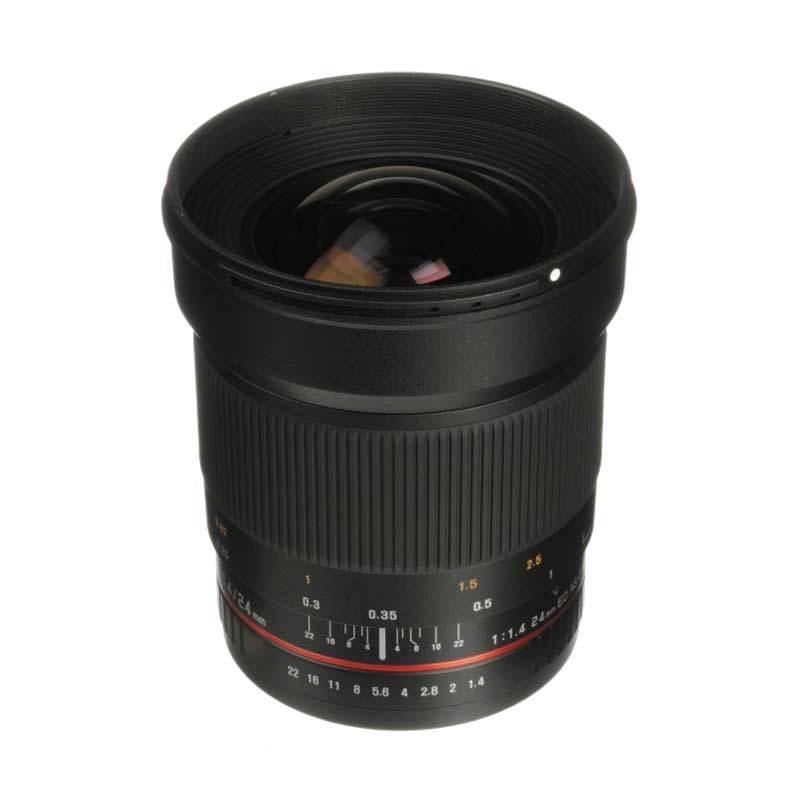 Samyang 24mm F/1.4 ED UMC Lensa Kamera for Canon