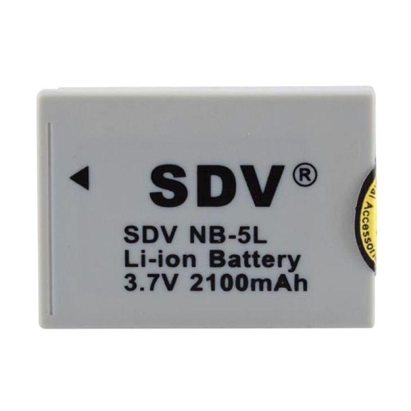 SDV Canon NB-5L Putih Baterai Kamera