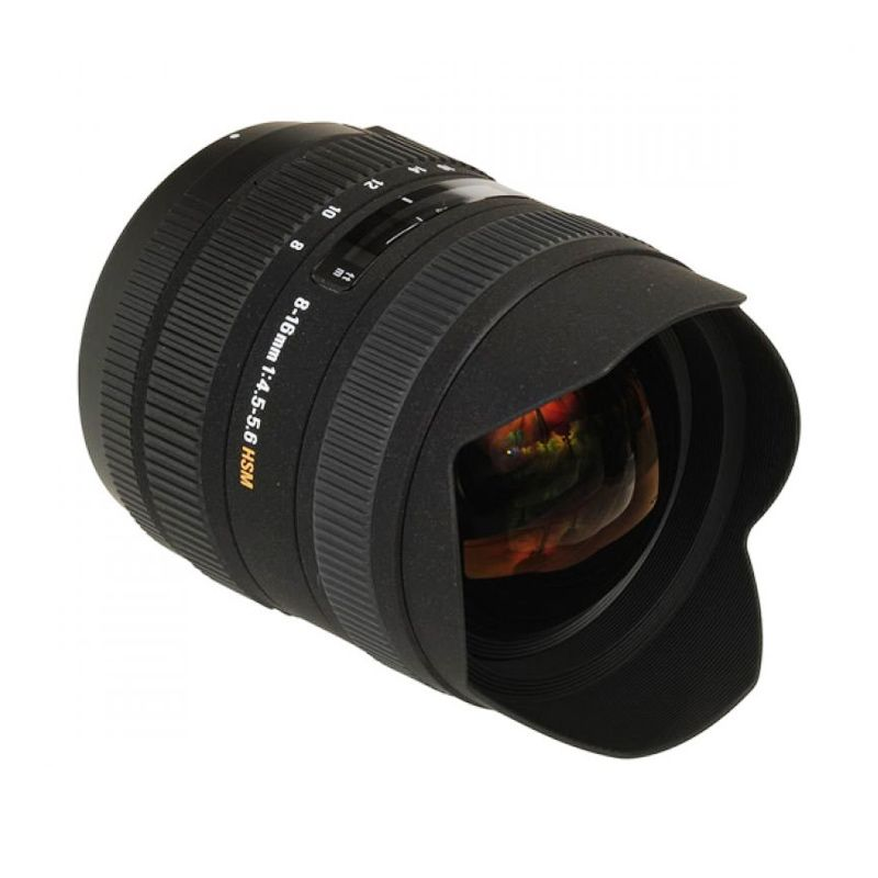Sigma For Canon 8-16mm F/4.5-5.6 DC HSM Lensa Kamera