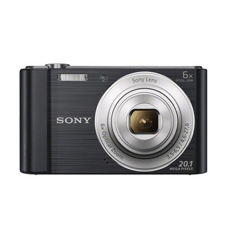 Sony W810 Cyber-Shot Hitam Kamera Pocket