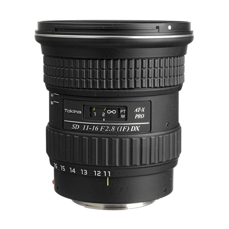 Tokina AF Pro DX 11-16mm f/2.8 IF Camera Lens For Nikon