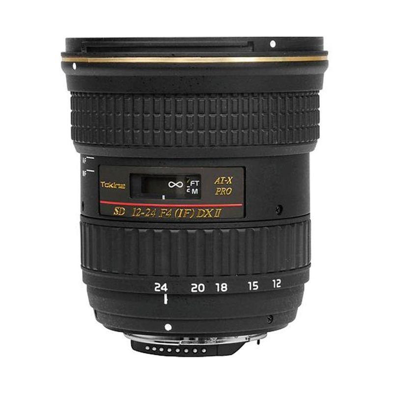 Tokina For Canon 12-24mm f/4 AT-X 124AF Pro DX II Lensa Kamera