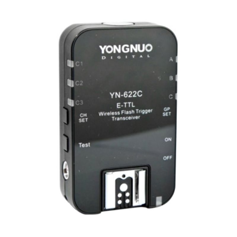 Yongnuo YN 622C Wireless E TTL HSS Hitam Flash Kamera for Canon