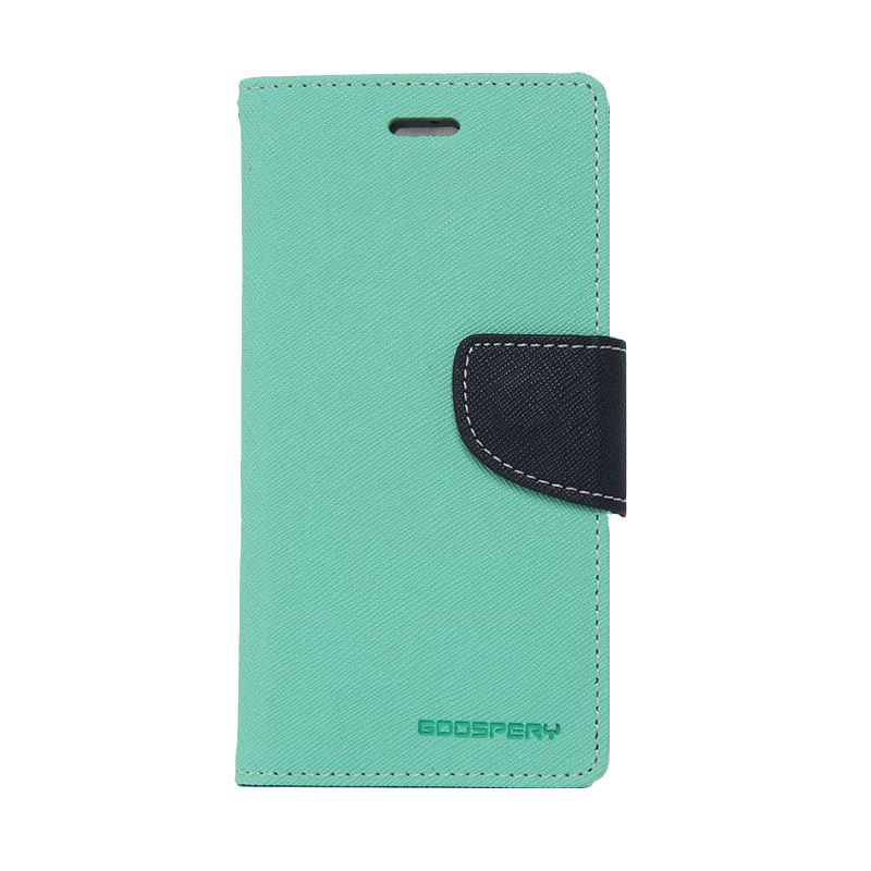 Mercury Goospery Fancy Diary Purple Navy Casing for Xperia Z3 Compact
