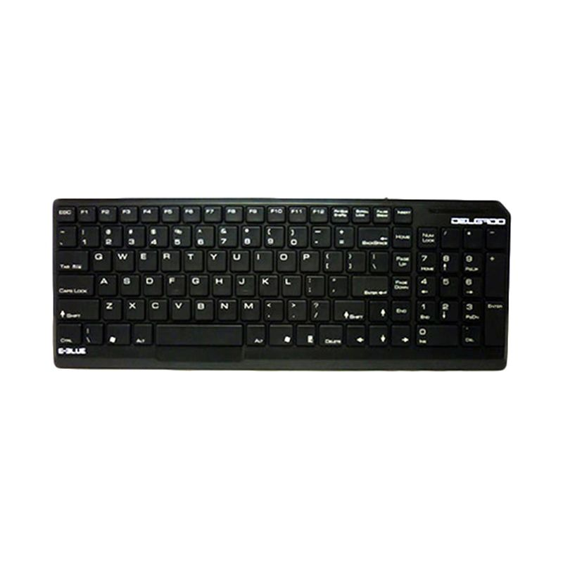 E-blue Delgado Slim Black Keyboard