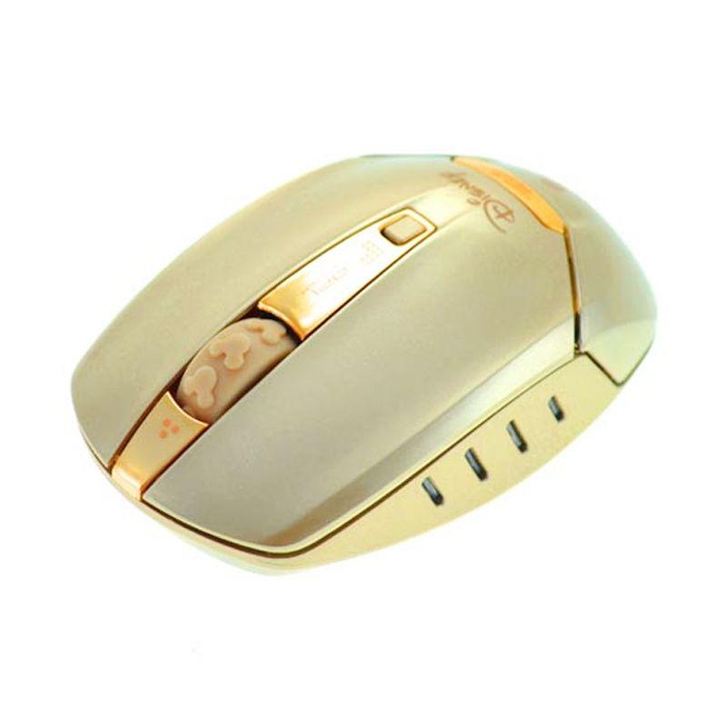 E-blue Disney Mickey Gold Wireless Mouse