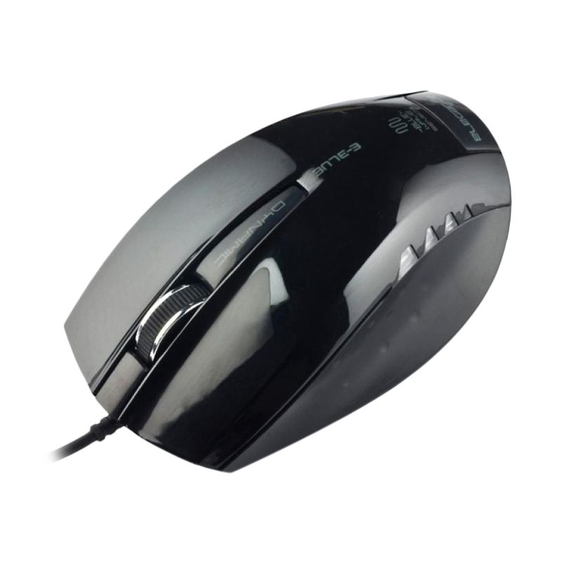 E-blue Dynamic Black Optical Mouse
