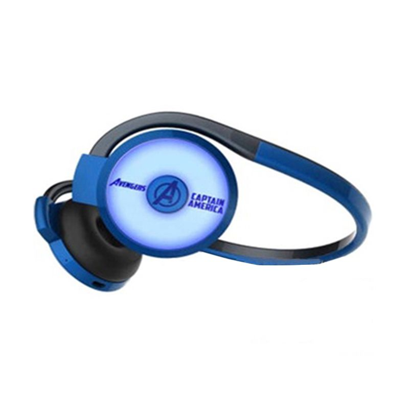 E-blue Marvel Avengers Captain America Blue Bluetooth Headset