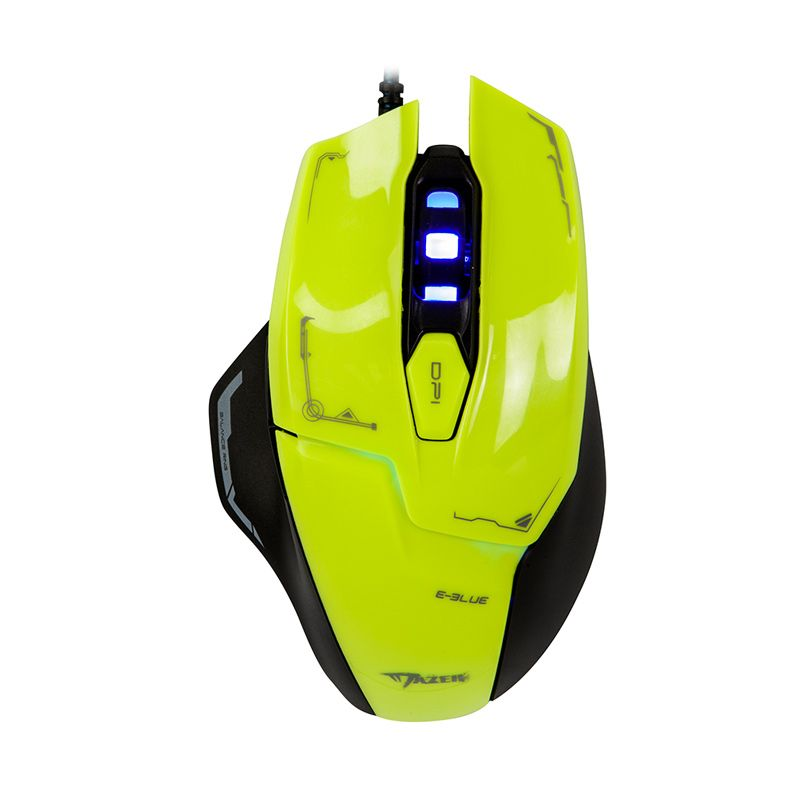 E-blue Mazer M462 Green Gaming Mouse