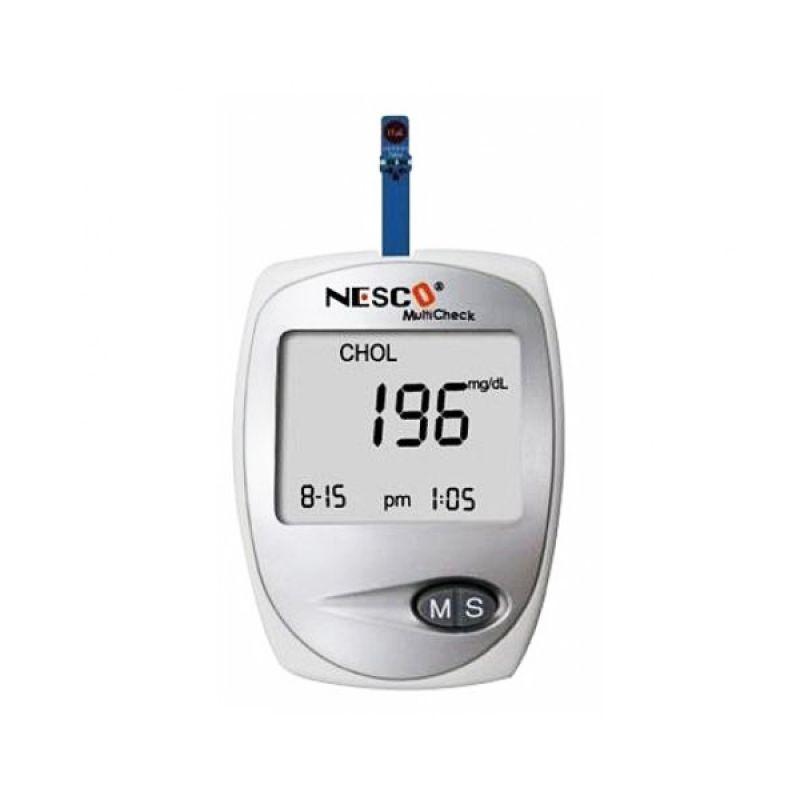 Nesco Multicheck Alat Monitor Kesehatan [Cek Gula Darah/Asam Urat/Kolestrol]