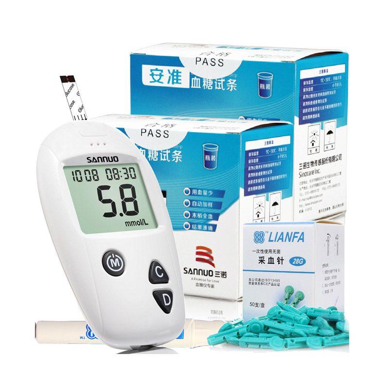 Sannuo Cek Gula Darah Alat Monitor Kesehatan