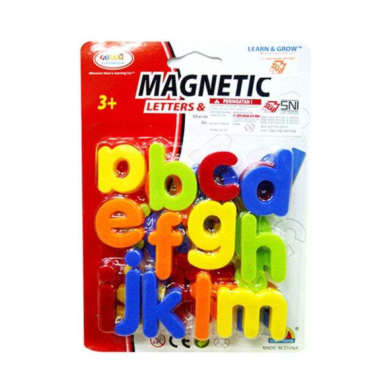 TMO Abjad Small Magnet Drawing Board Mainan Anak